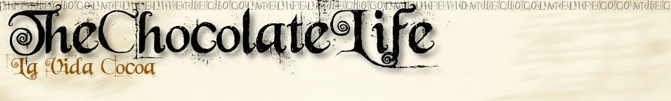 Early header graphic for The Chocolate Life online community.