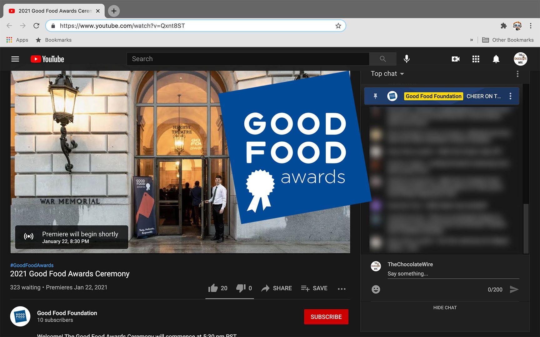 2021 Good Food Awards Winners