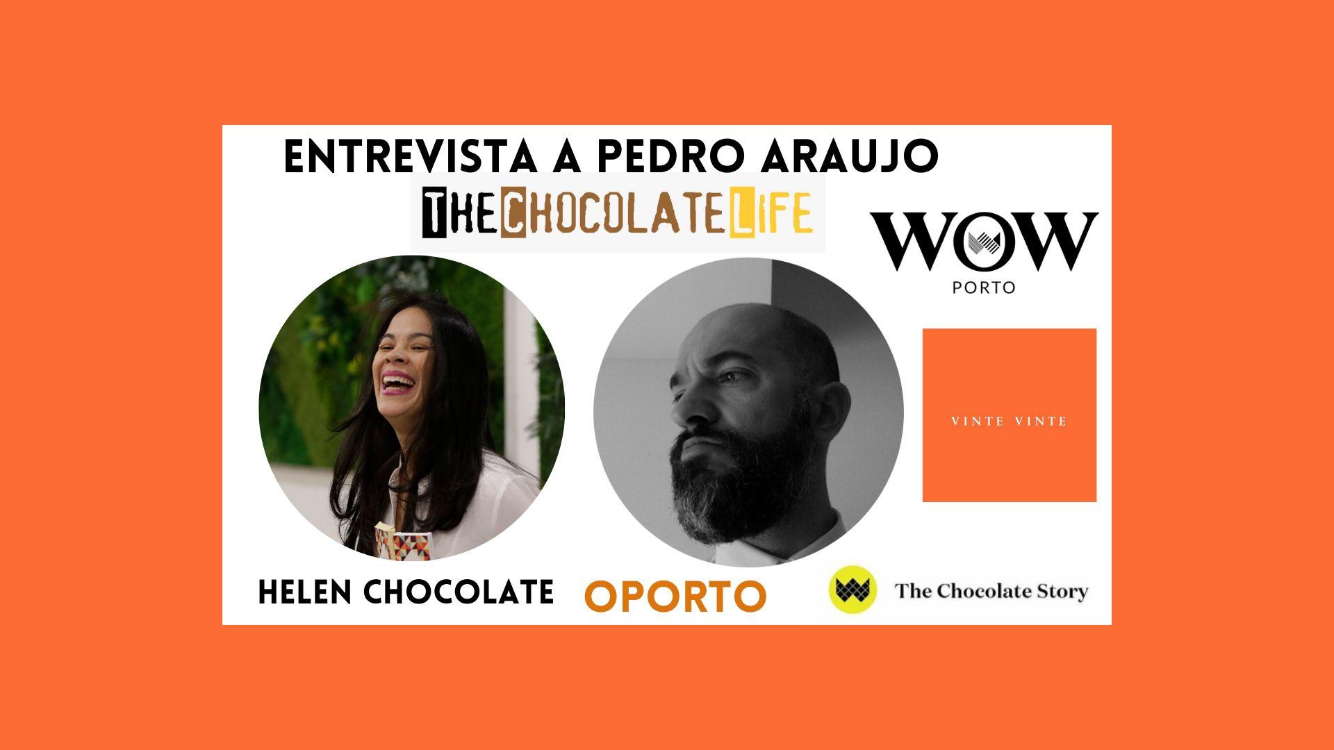 Helen Chocolate para TCL: Entrevista a Pedro Araujo
