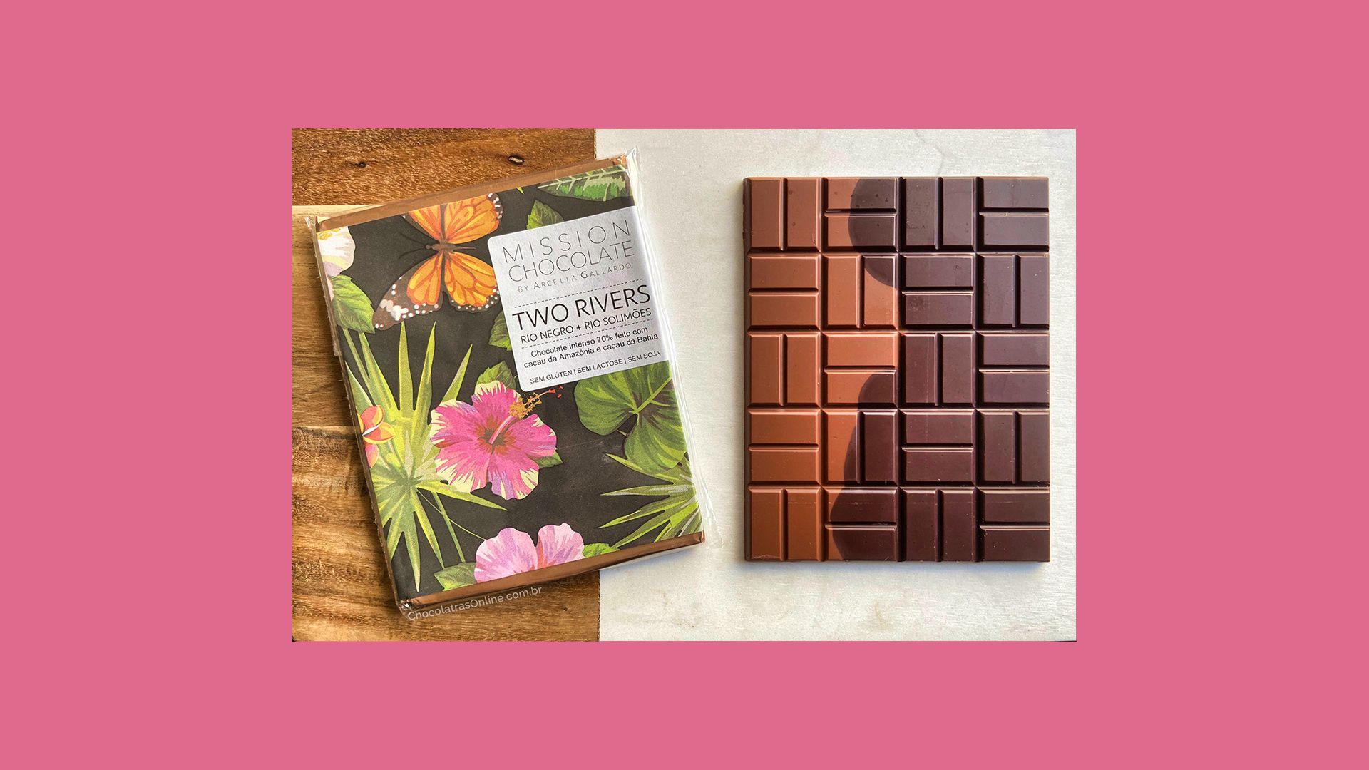 Dois Rios and a Chocolate Bar