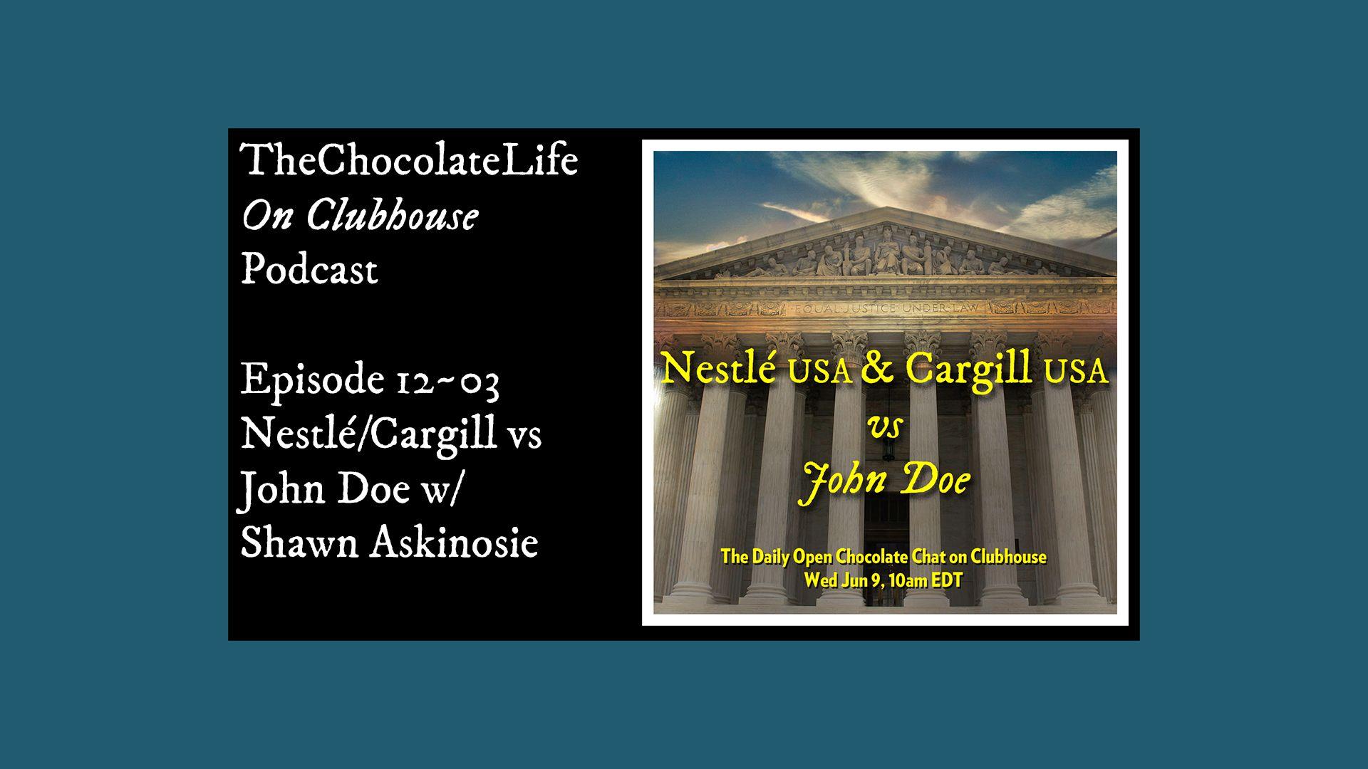 Nestlé & Cargill vs John Doe