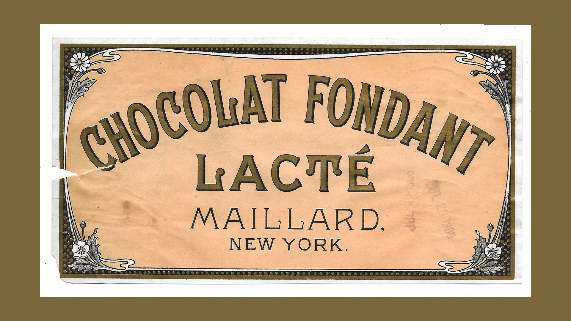 A Golden Age: Chocolate in New York, 1850-1900