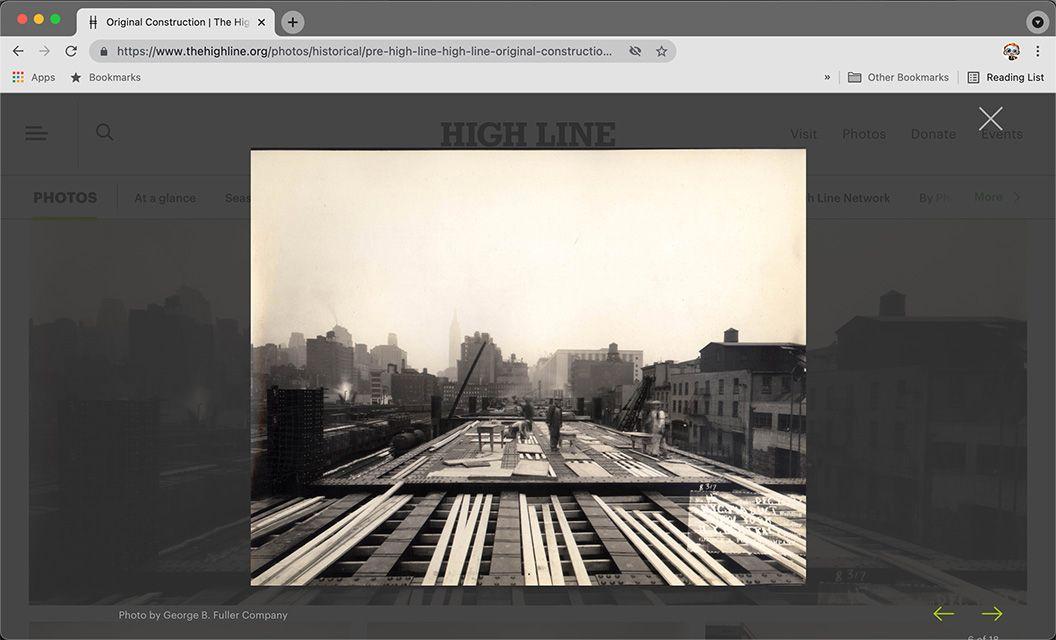 Pre High Line Original Construction