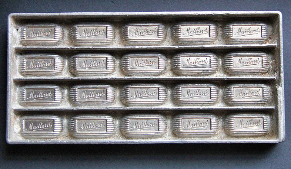 Maillard Chocolate, Bonbon Mold, Manufactured by Anton Reiche, early 1900s