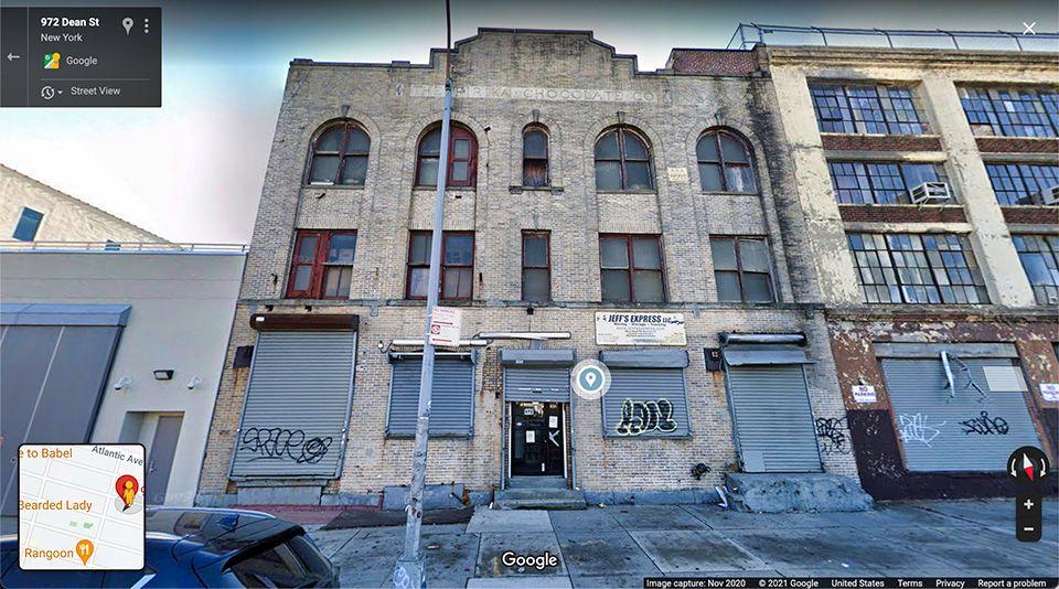 Pirika Chocolate Building Google Maps Street View