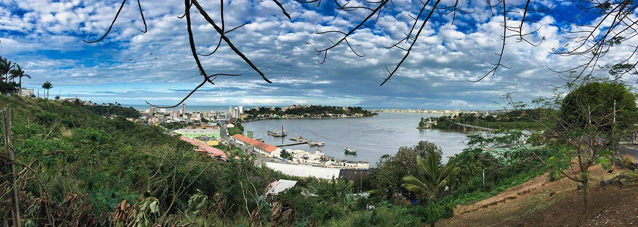 Ilhéus Harbor Panorama
