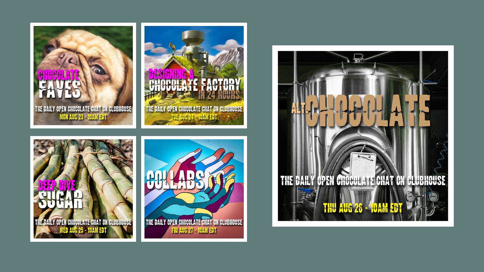TheChocolateLife on Clubhouse – Week 23