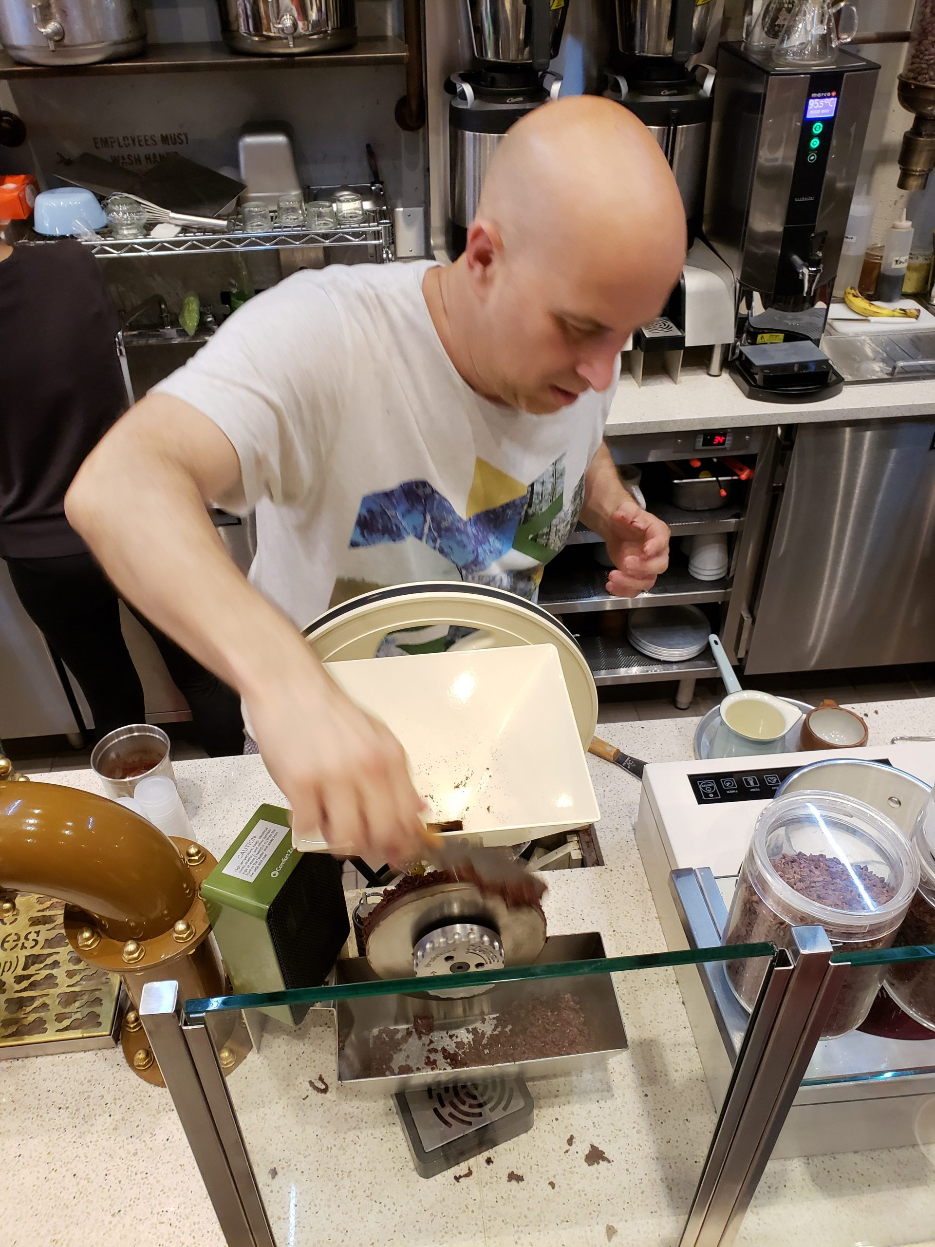 """Reinventing Himself & His Chocolate: Oded """"Max"""" Brenner Opens NYC's Blue Stripes"""