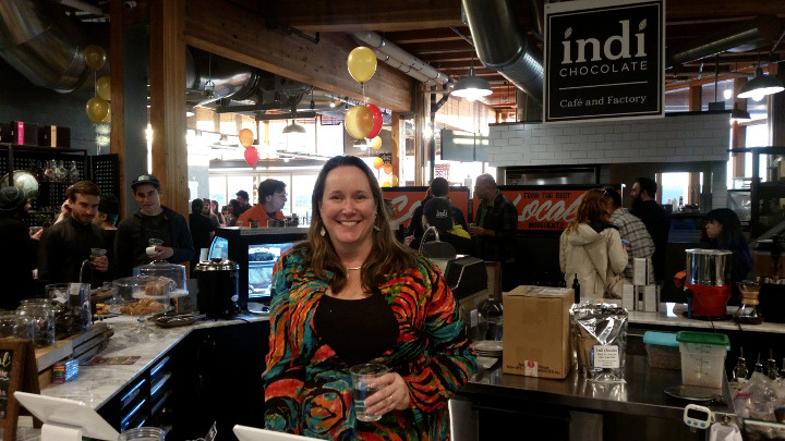 Indi Chocolate's Grand Opening in Pike Place Market