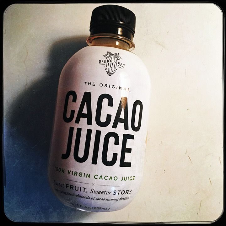Repurposed Pod's Cacao Fruit Juice