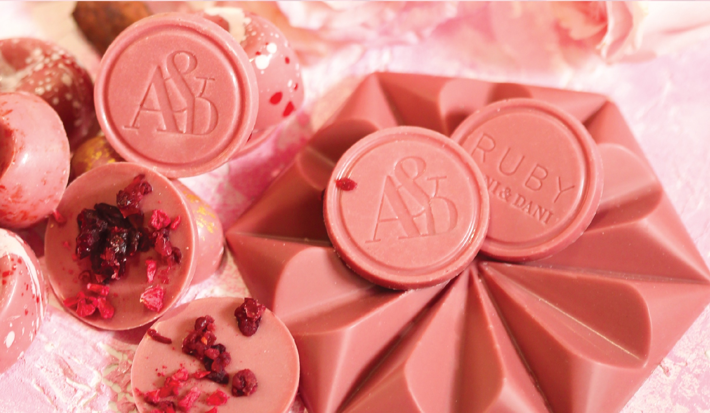 AANI&DANI  the first company in the MENA to introduce RUBY Chocolate
