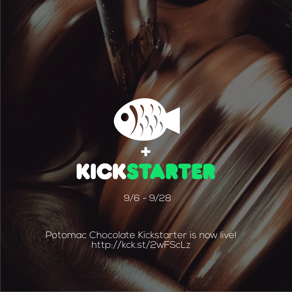 Potomac Chocolate Kickstarter - Successfully Completed!
