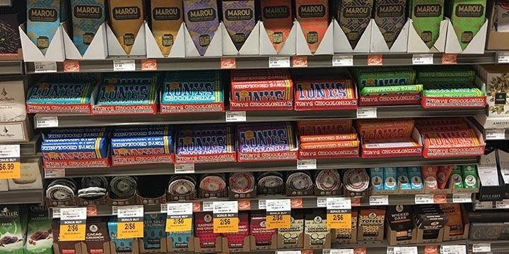 Store Markup On Chocolate Bars