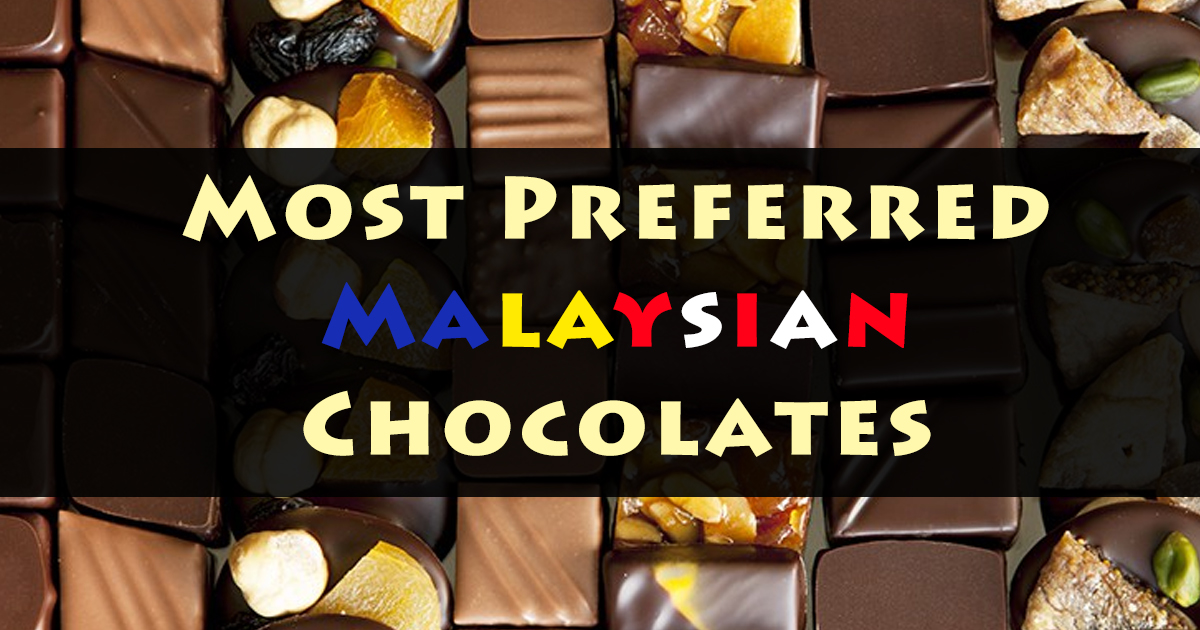 Most Preferred Malaysian Chocolates