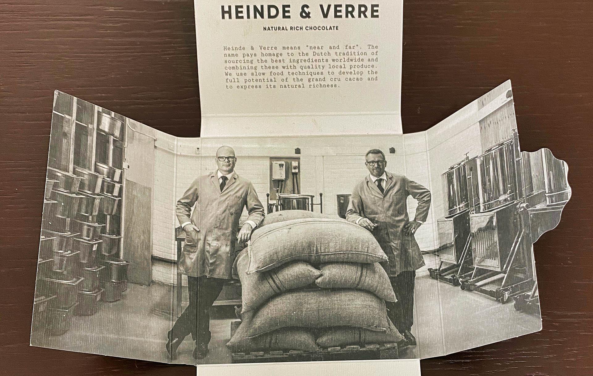 Heinde & Verre: Chocolate Near and Far