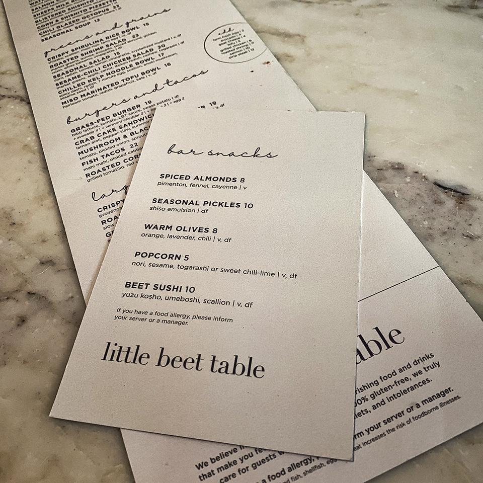 LittleBeetTable_menus