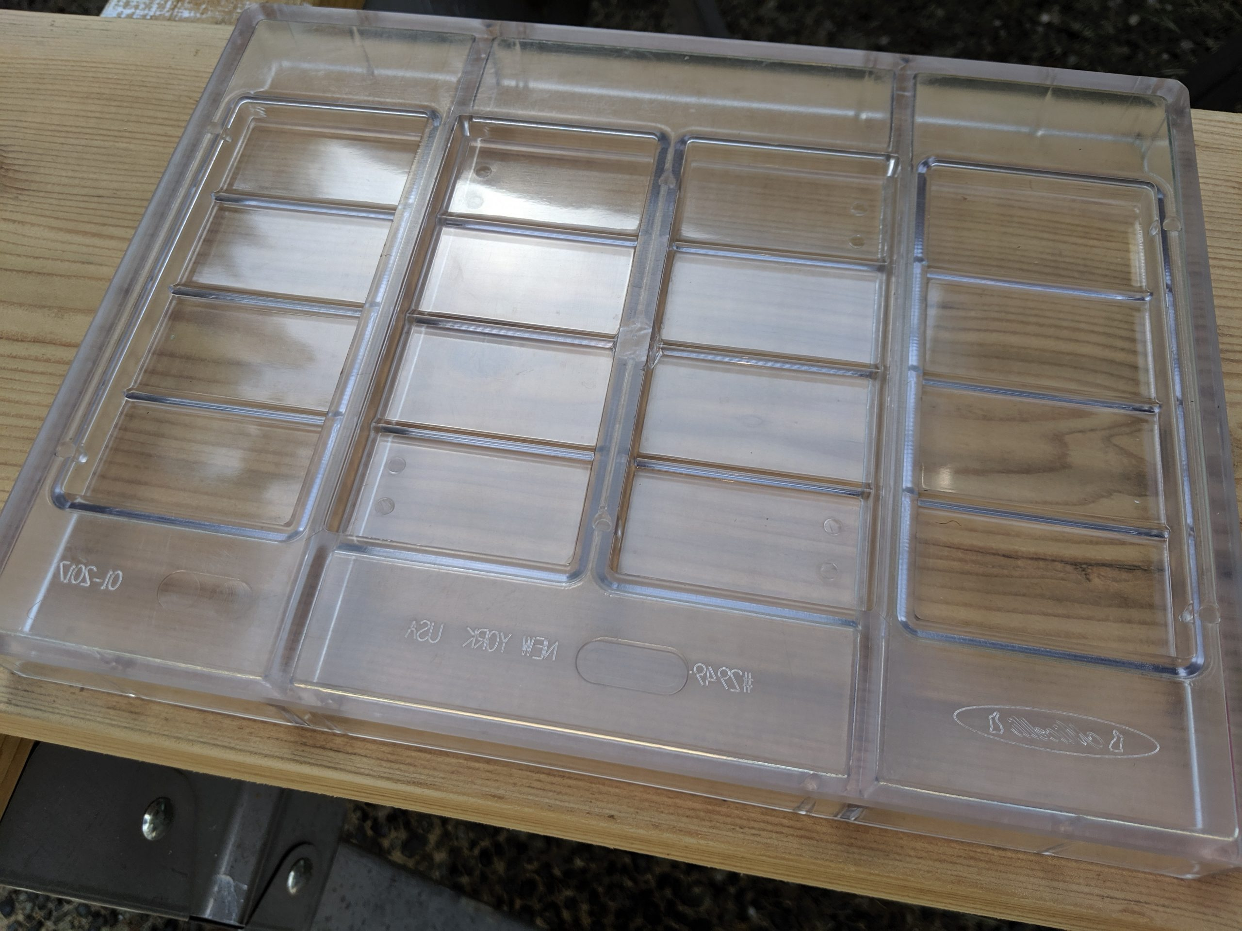 SOLD - 50 Commercial Polycarbonate Bar Molds